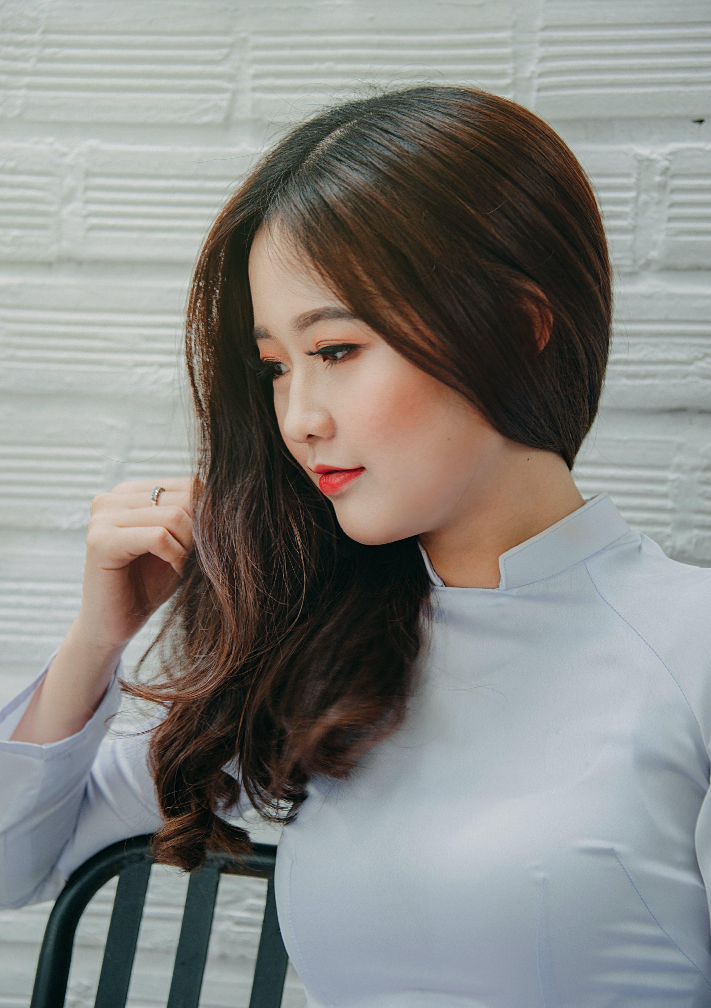 atraktívny, Ážijčanka, ázijské dievča