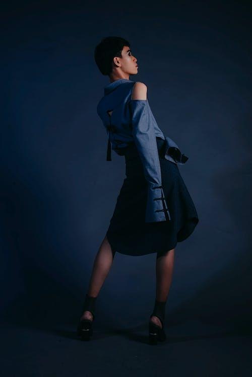 Foto stok gratis cewek, dewasa, fashion, gaun