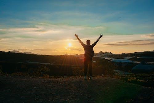 Foto d'estoc gratuïta de alba, capvespre, cel, clareja