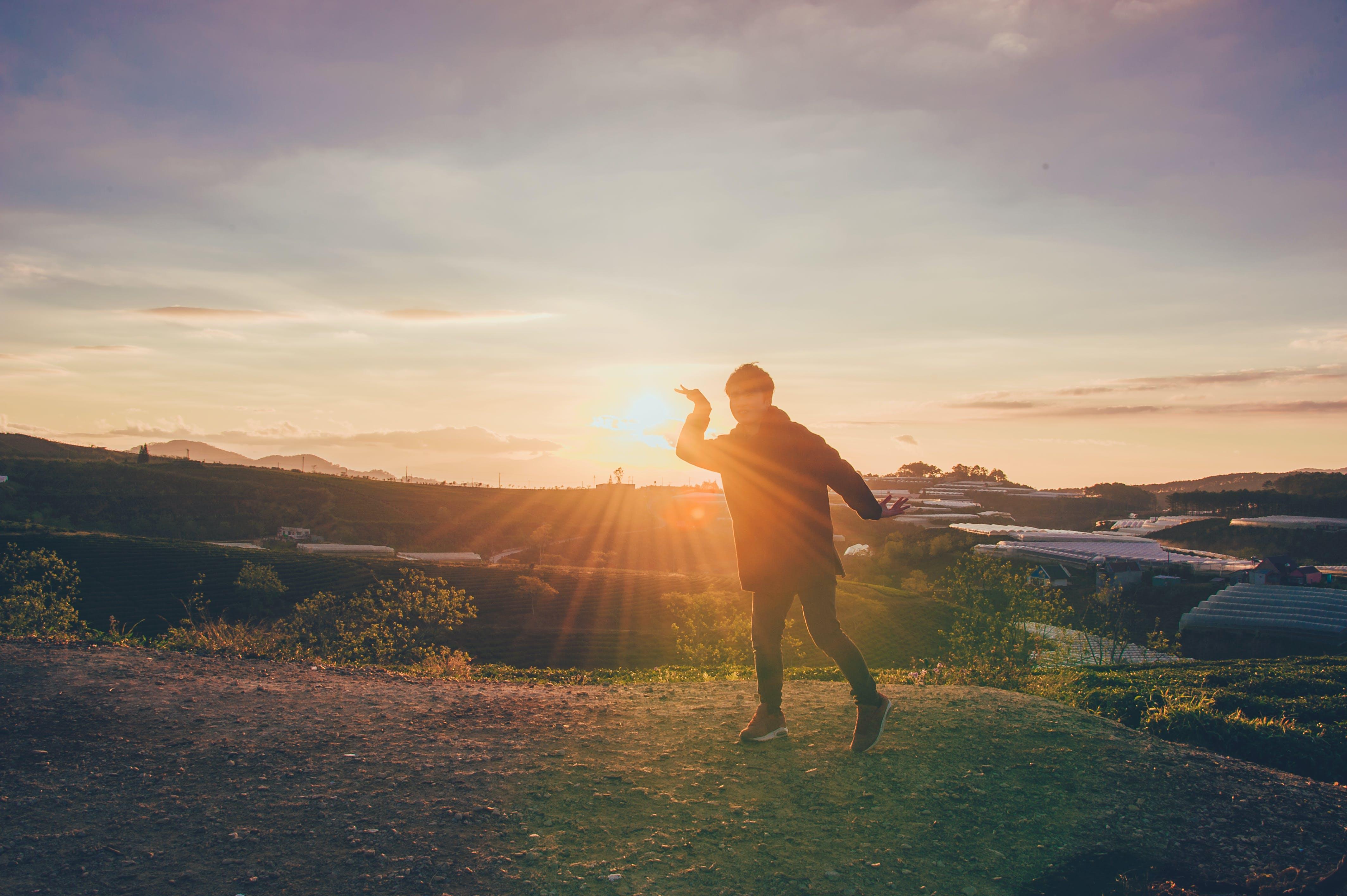 Foto d'estoc gratuïta de alba, capvespre, cel, llum del dia
