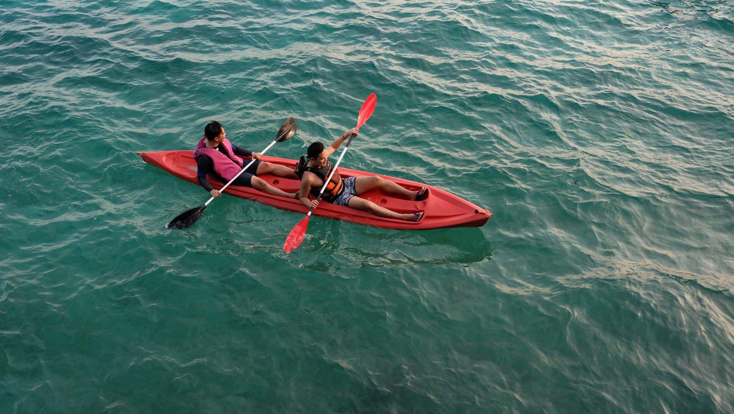 Free stock photo of kayaking