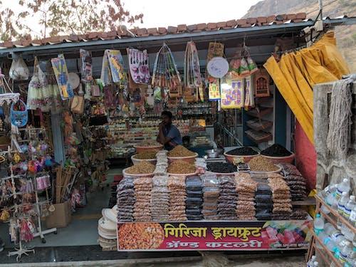 Fotos de stock gratuitas de comida, comida callejera, esquina, fruto seco