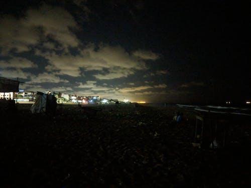 Kostnadsfri bild av molnig himmel, natt, nattfotografering, natthimmel