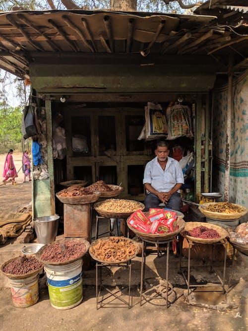 Kostnadsfri bild av jordnötter, mängd, muttrar, solig