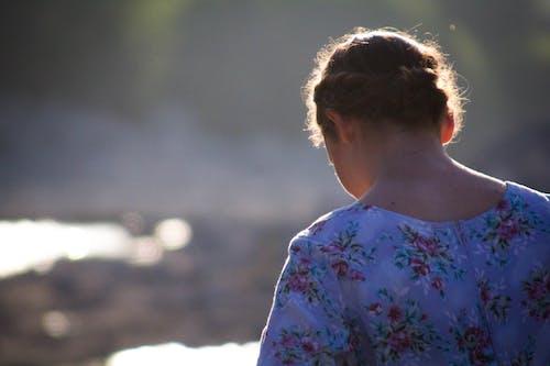 Fotos de stock gratuitas de niña, persona, puesta de sol