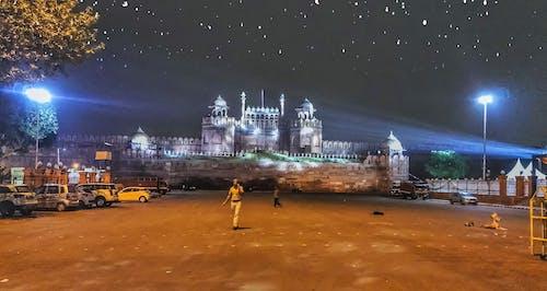 夜生活, 房地產, 新德里, 漂亮 的 免費圖庫相片