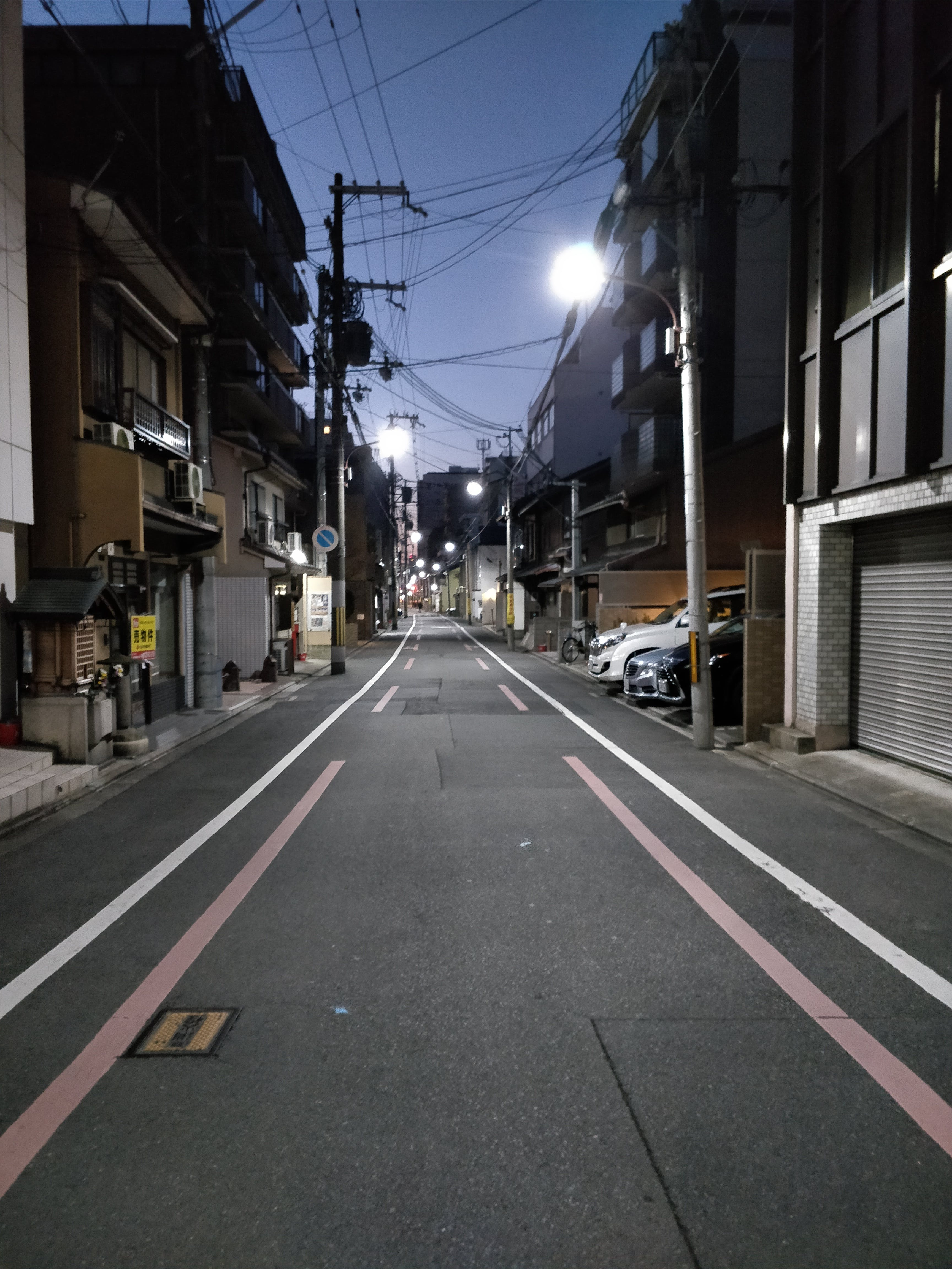 Free stock photo of empty street, japan, Japanese, kyoto