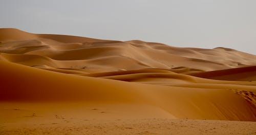 büyük sahra, çöl, Fas, kum içeren Ücretsiz stok fotoğraf