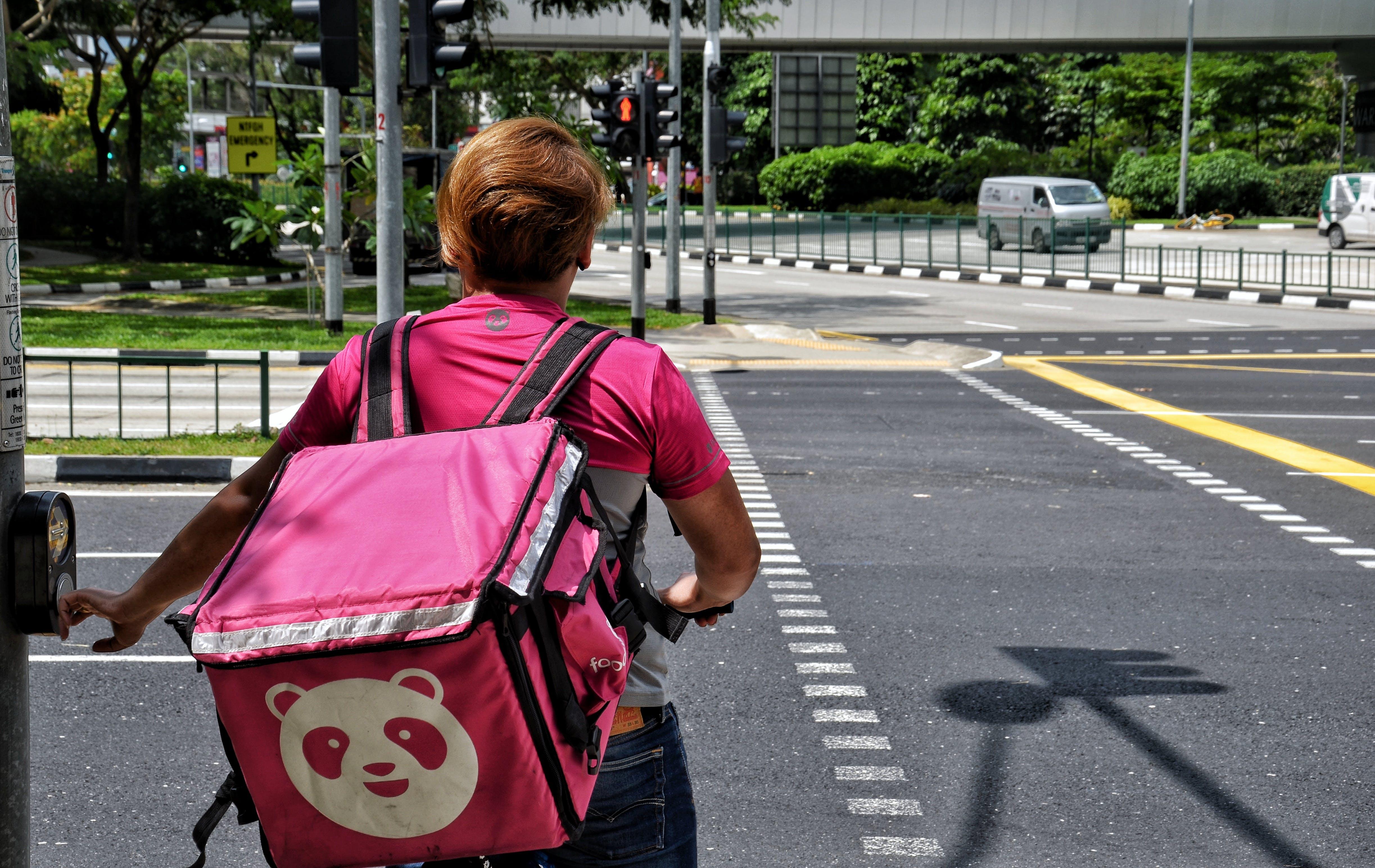 Free stock photo of Electricbike, food delivery, Food panda, Food panda singapore