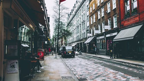 Základová fotografie zdarma na téma auto, budovy, lidé, Londýn