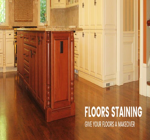 Free stock photo of Floor Staining