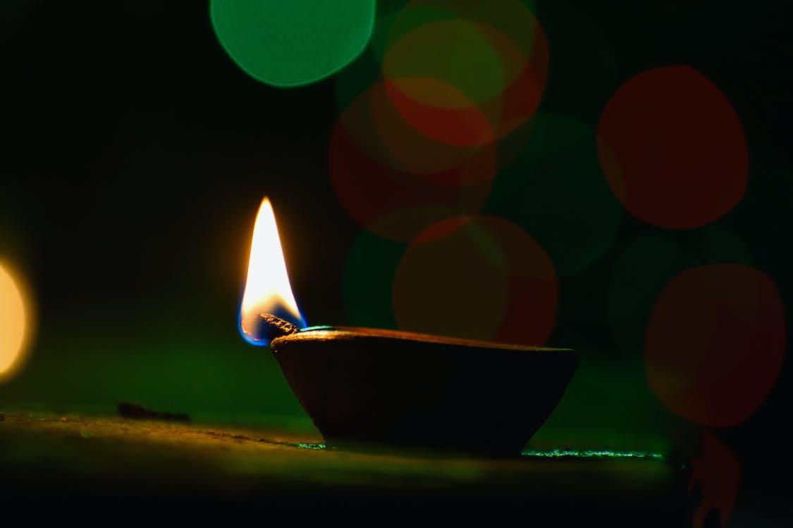 Diwali, diya, lights