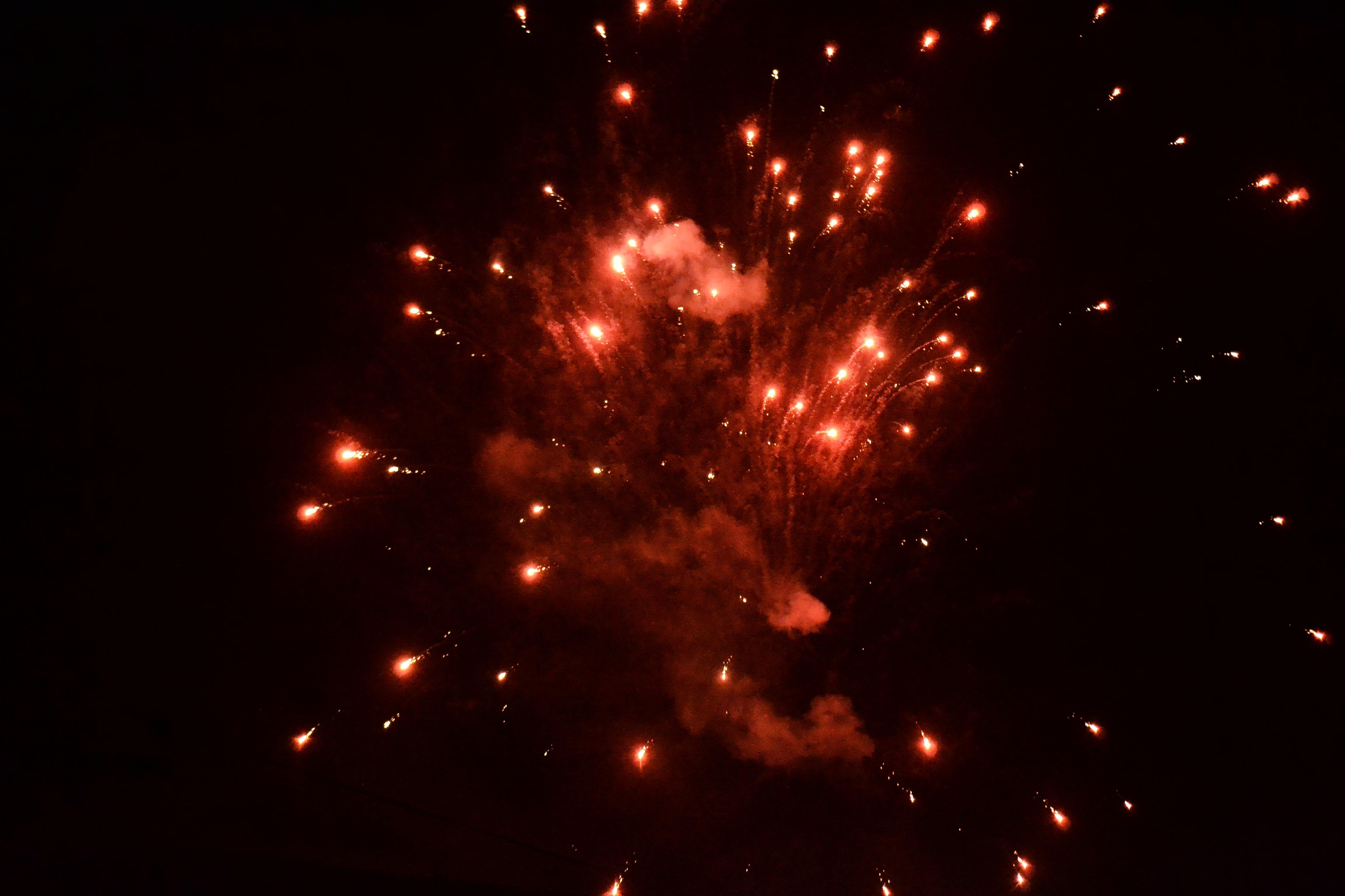 Free stock photo of abstract photo, Dark Sky, firecracker, fireworks