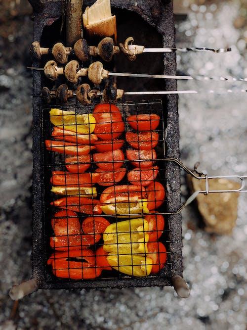 Gratis stockfoto met avondeten, barbecue, brand, branden