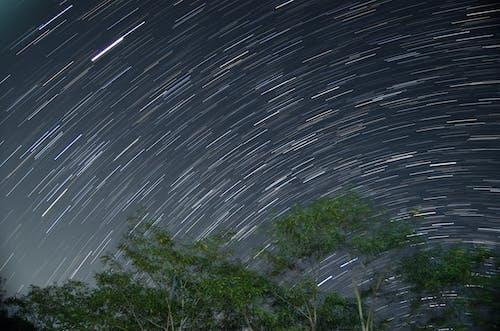 Fotos de stock gratuitas de caminos, cielo nocturno, estelas de luz