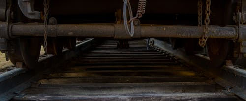 Gratis lagerfoto af mørk, rva, spor, tog