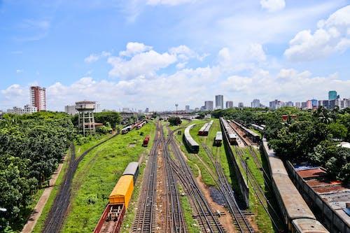 Free stock photo of kamalapur railway station