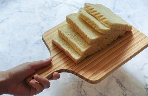 ahşap, beslenme, dilim, ekmek içeren Ücretsiz stok fotoğraf