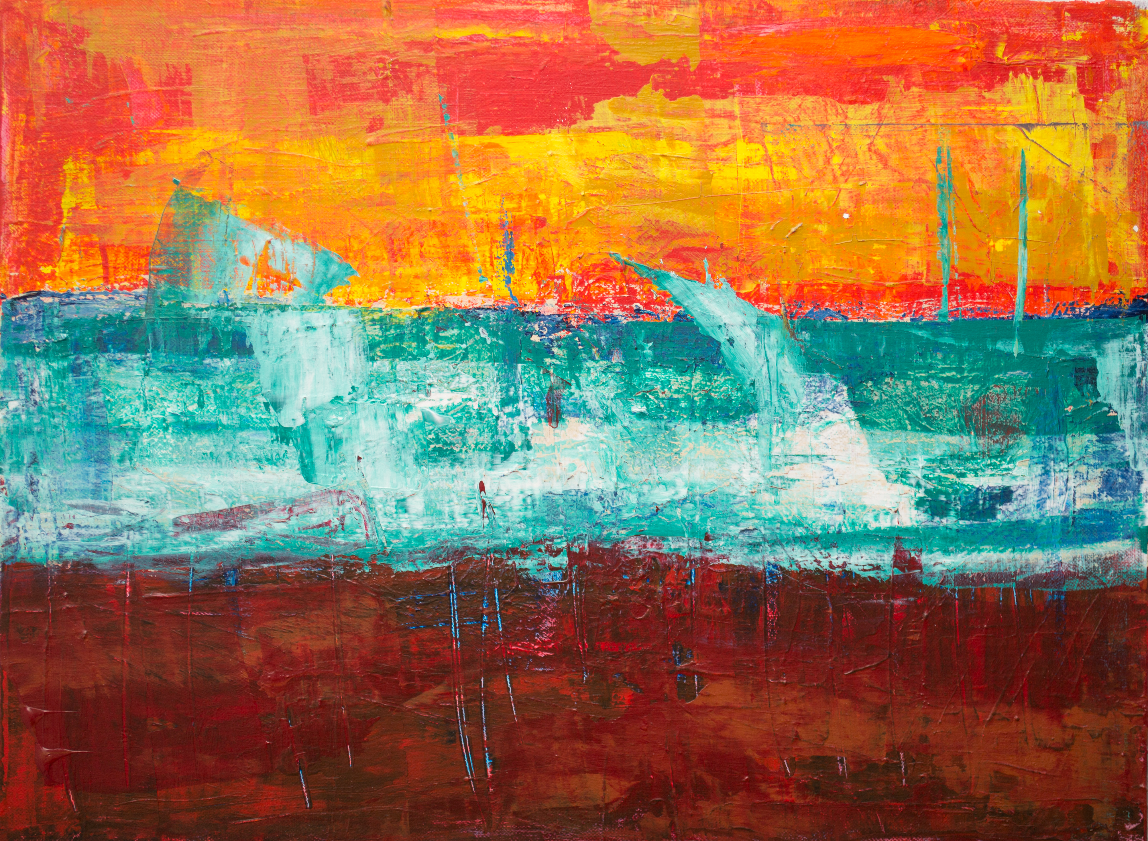 Painting Wallpaper · Free Stock Photo