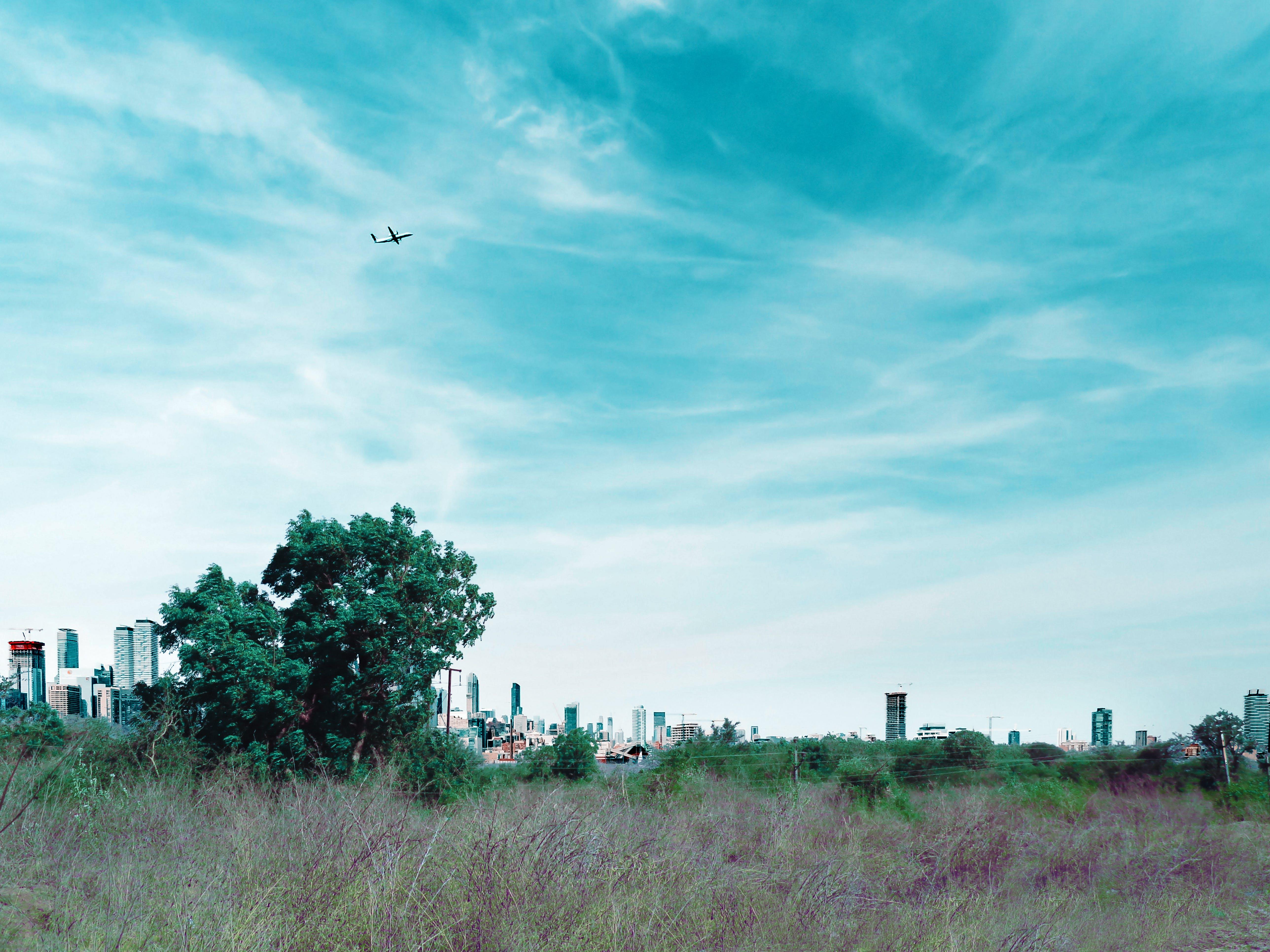 Free stock photo of big city, blue sky, city, city center