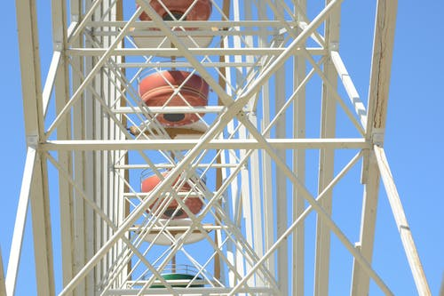 Photos gratuites de attraction, grande roue, reuzenrad