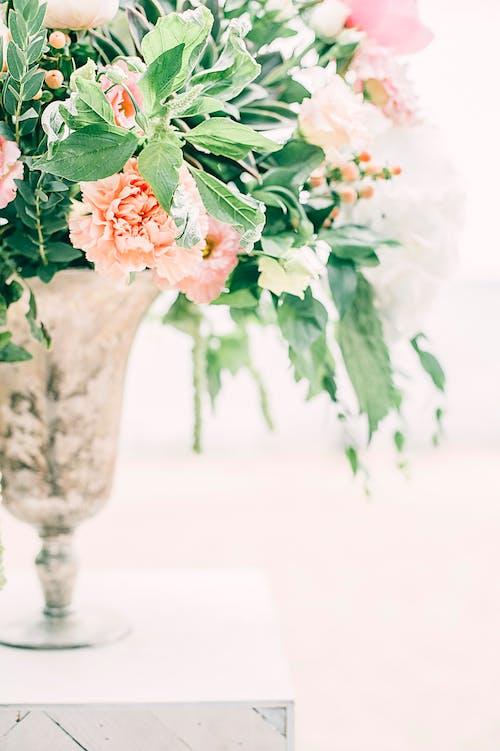 Pink Flowers Centerpiece