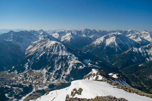 Photos gratuites de alpes, ciel bleu, point de vue