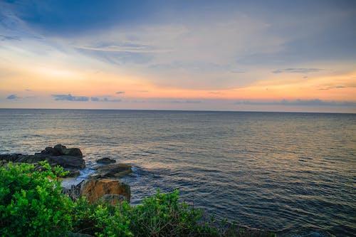 Fotobanka sbezplatnými fotkami na tému krajina, more, Srí Lanka, západ slnka