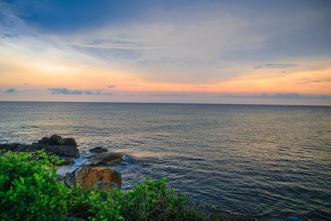 deniz, gün batımı, manzara