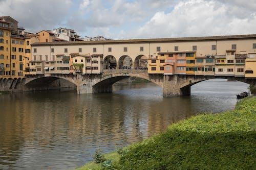 Free stock photo of ponte vecchio old bridge firenze florence italy