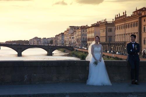 Free stock photo of bridge, florence, italy, love