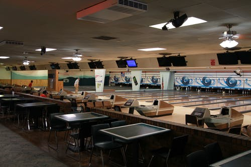 Free stock photo of beckley wv, bowling alley, retro