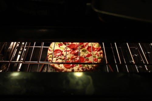 Δωρεάν στοκ φωτογραφιών με δημιουργικός, πίτσα, πίτσα φούρνου