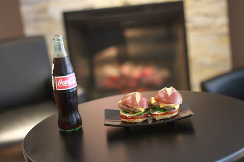 Free stock photo of beckley, burger, coke, foodie
