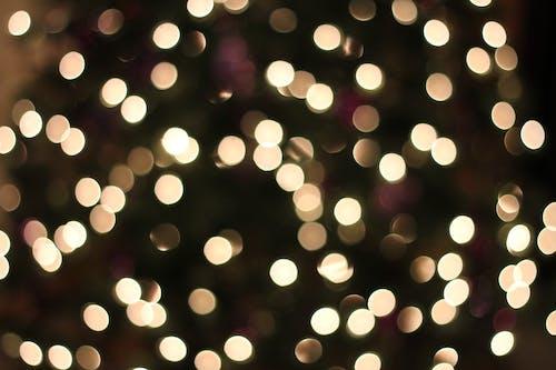 Ingyenes stockfotó fény, Karácsony, sárga fények, textúra témában