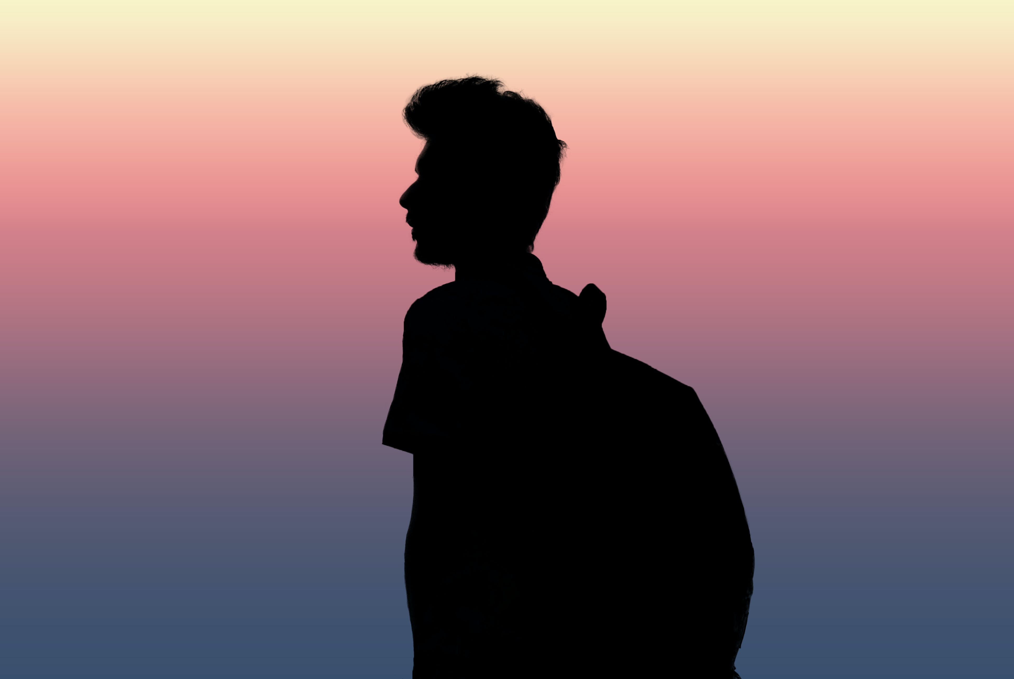 Free stock photo of boy, gradient, in love, night view