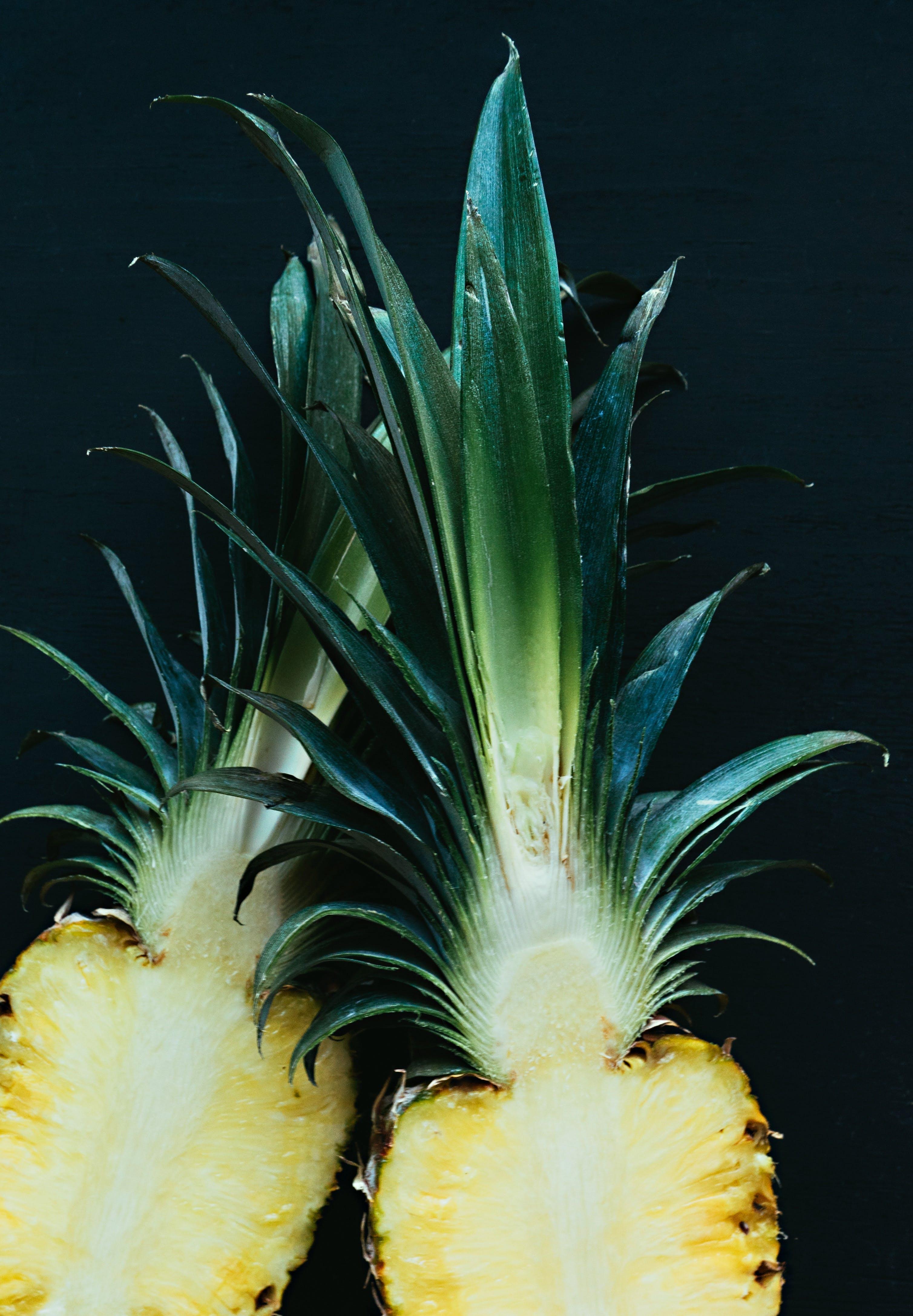 Sliced Pineapple Fruit