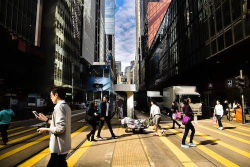 Ingyenes stockfotó hongkong, napfény, utca témában