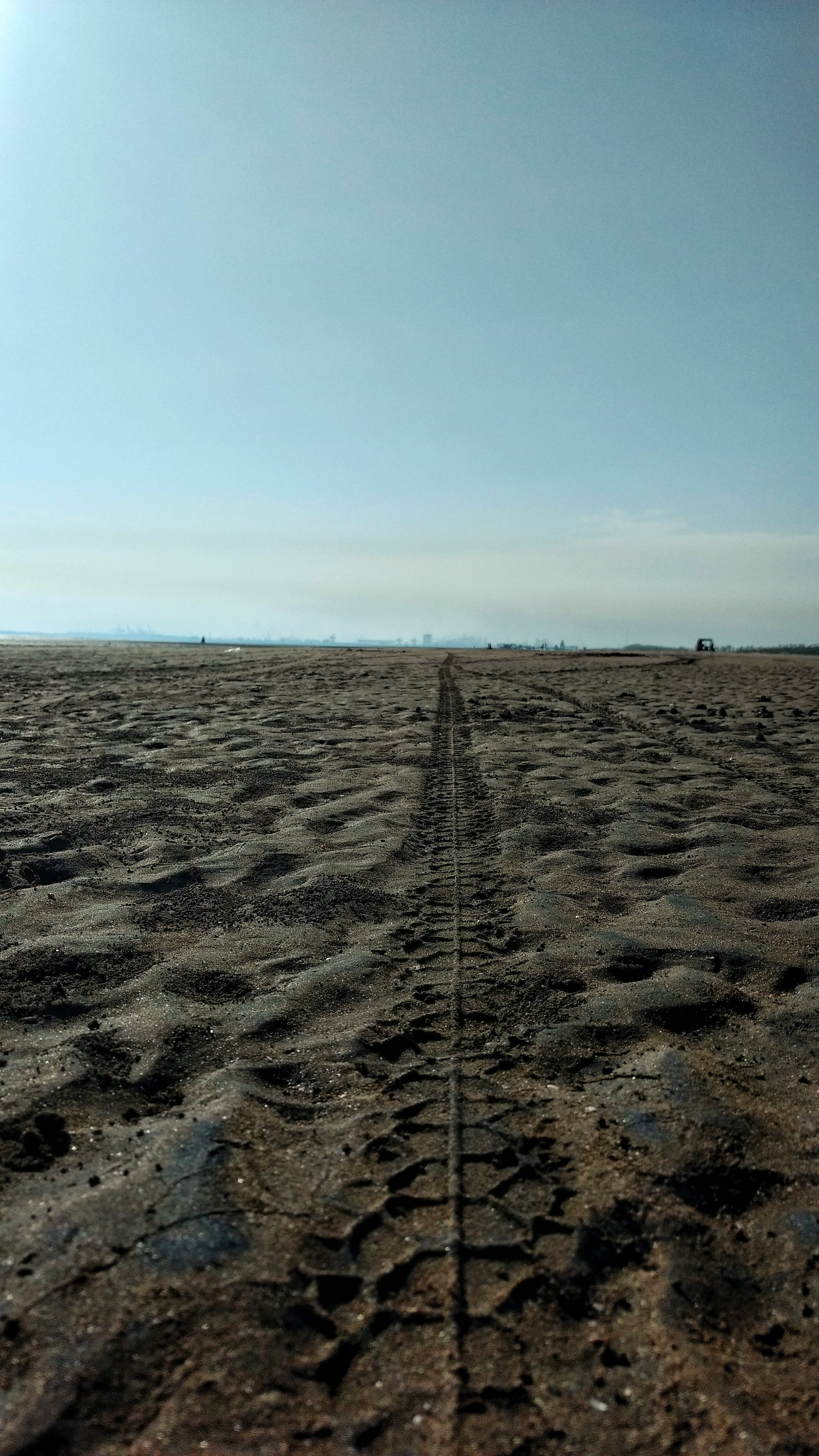 Free stock photo of beach, leading lines, sand