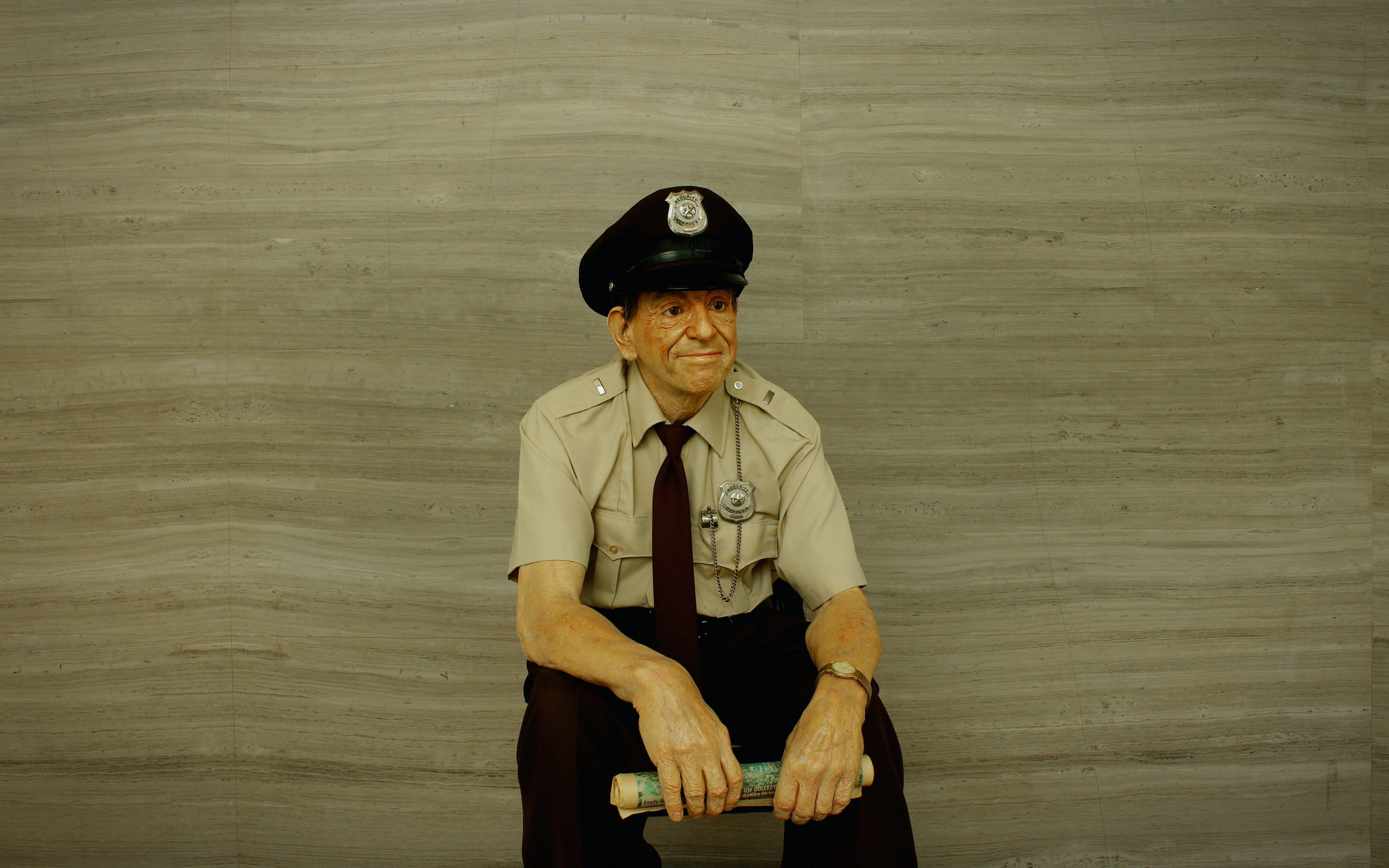 가드, 경찰, 동상, 왁스 동상의 무료 스톡 사진