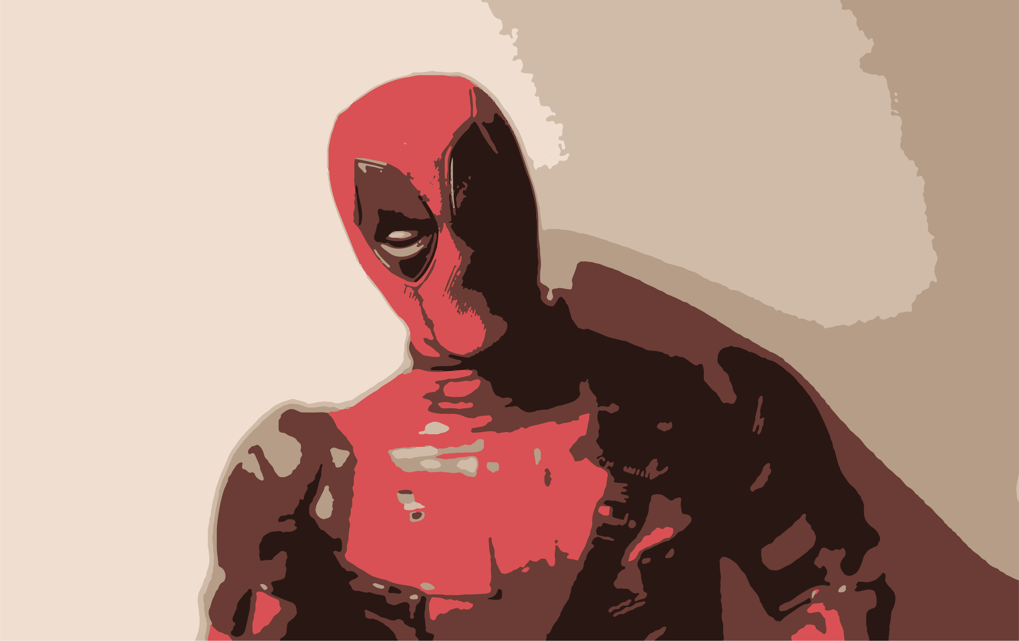 Free stock photo of dead, deadpool, red