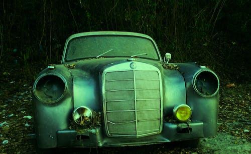 Kostenloses Stock Foto zu auto, grün, mercedes benz, oldtimer