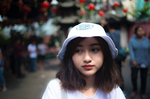 Ilmainen kuvapankkikuva tunnisteilla aasialainen nainen, aasialainen tyttö, hattu, henkilö