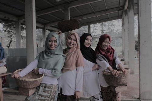 bogoreducare, 亚洲女性, 亞洲, 印尼 的 免费素材照片