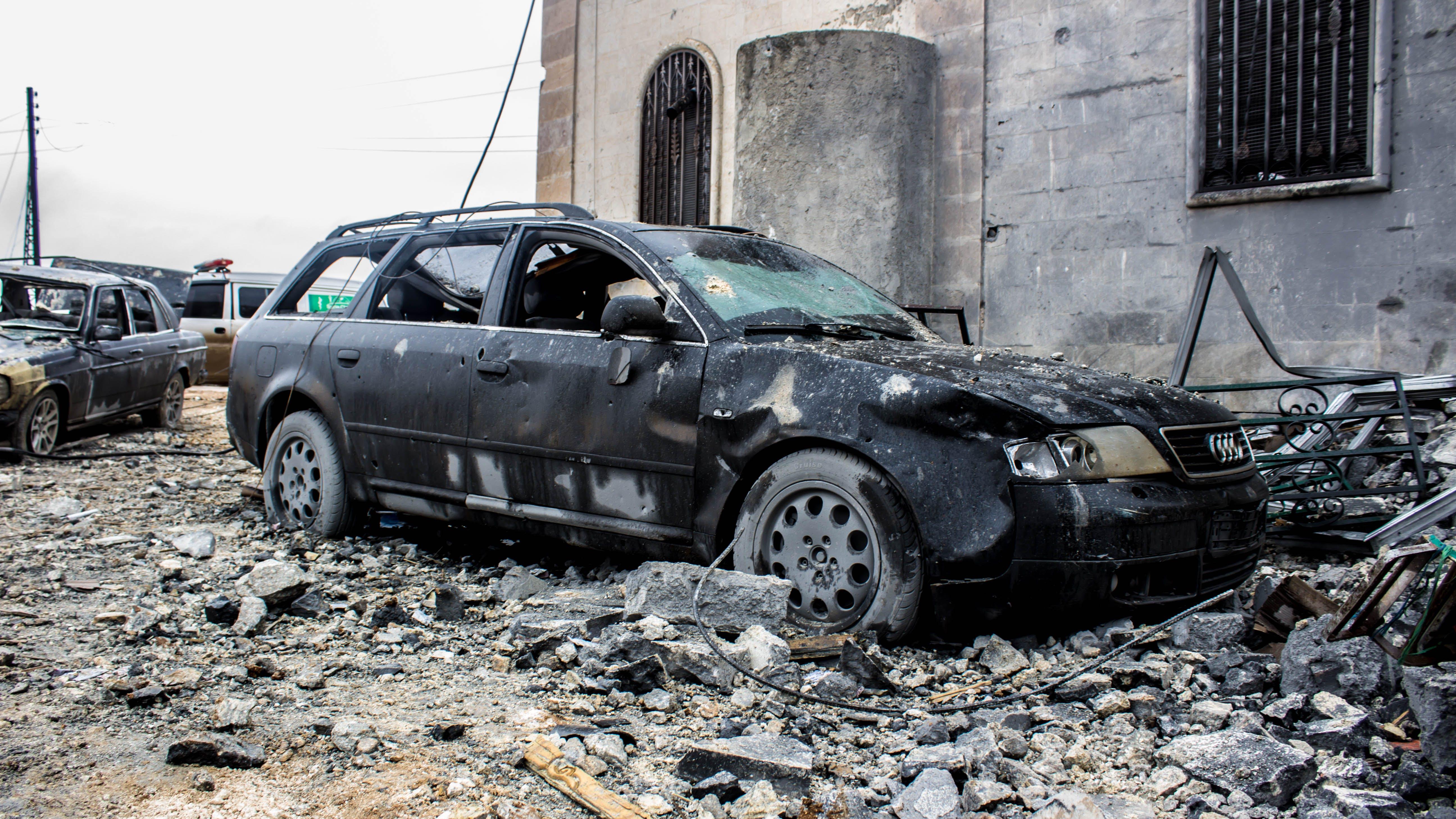 Free stock photo of photography, car, destruction, war