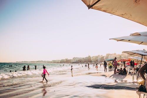 Δωρεάν στοκ φωτογραφιών με ακτή, άμμος, Άνθρωποι, Βραζιλία