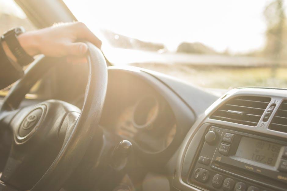 Black Toyota Steering Wheel