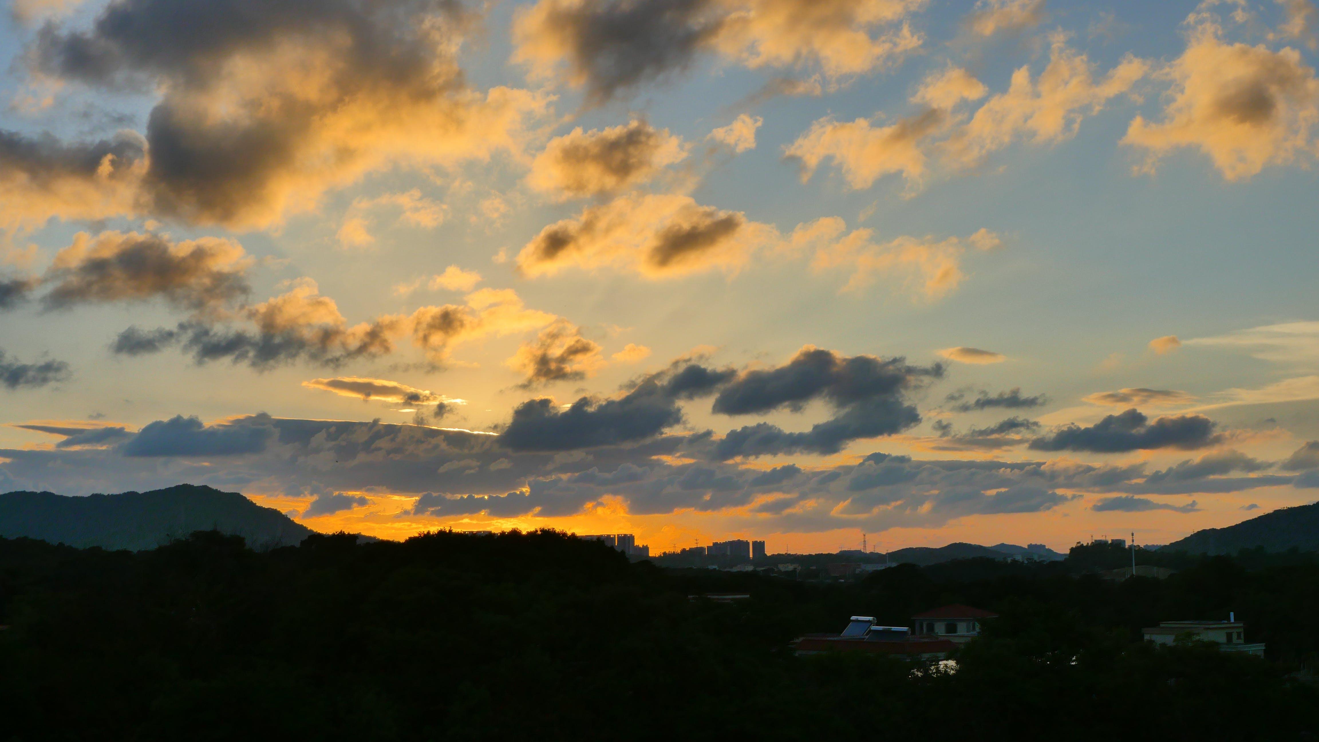 Free stock photo of golden hour, golden suns, sunset