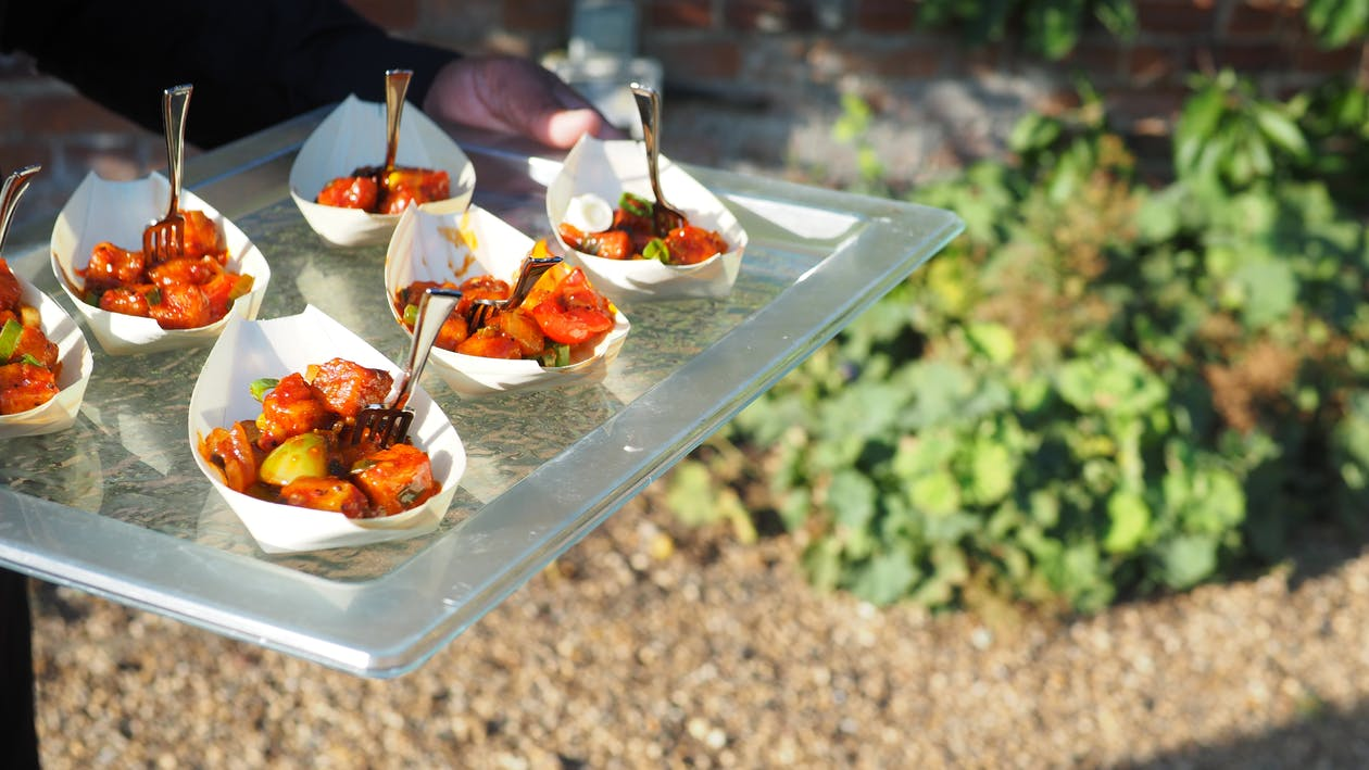 Free stock photo of catering, event food, indian