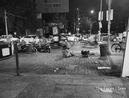 Δωρεάν στοκ φωτογραφιών με Άνθρωποι, Ινδία, κίνηση, Νύχτα